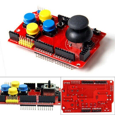 Gamepad Joystick Pad Keypad Buttons Shield PS2 Game Pad for Arduino Raspberry Pi