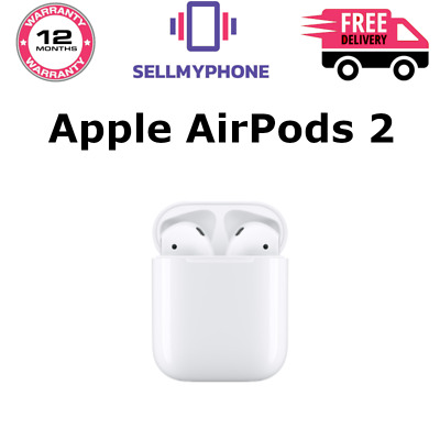 Brand New Genuine Apple AirPods 2 2nd Gen With Wired Charging Case (Bluetooth)