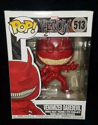 Funko POP! Marvel Venom Series **VENOMIZED DAREDEVIL** #513 NMIB Vinyl Figure