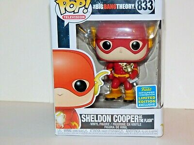 """2019 Funko Pop! Limited Edition Big Bang Theory """" SHELDON COOPER as The Flash """""""