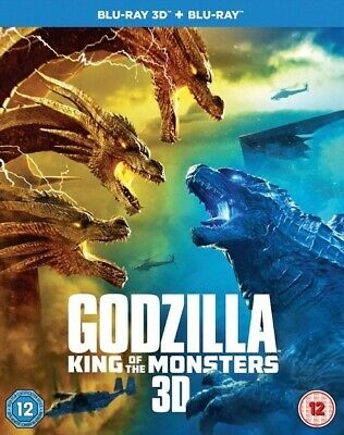 Godzilla King of the Monsters 3D and 2D BLU-RAY PREORDER