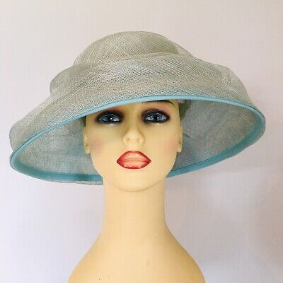 Ladies Occasion Wedding Races Mother Bride Hat Mint Green by Balfour Millinery