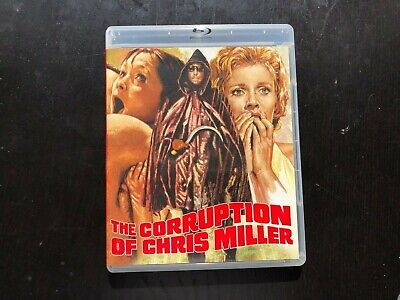 The Corruption of Chris Miller Blu-ray DVD combo Region free Vinegar Syndrome