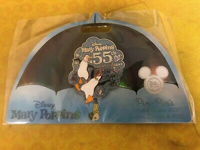 D23 DISNEY PIN: Mary Poppins- 55th Anniversary Pin LIMITED 3000 In hand