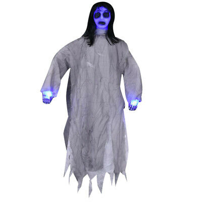 1pc Halloween Props Creative Horror Plastic Durable Hanging Witch Ghost for Bar