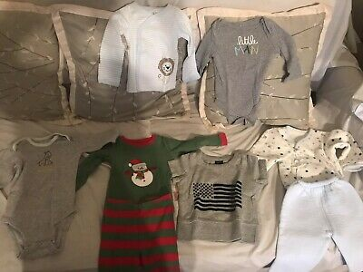 Lots Infant Boys Baby Gap, Carter's, Circo & Leveret Tee Shirt Size 3-6 Months