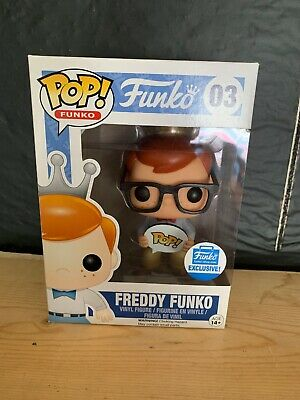 Funko Pop! Freddy Funko Nerd With Glasses Funko Shop Exclusive 03 LE Hipster