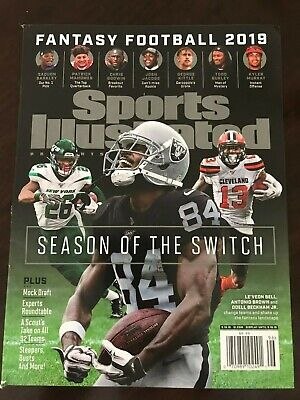 Sports Illustrated Fantasy Football 2019 Draft Guide Magazine