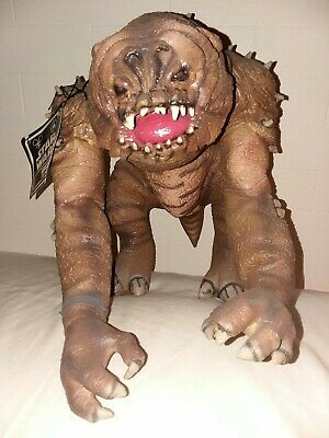 "Disney Theme Park Exclusive Star Wars Latex Rancor Monster 12"" H 2015 NEW w/ tag"