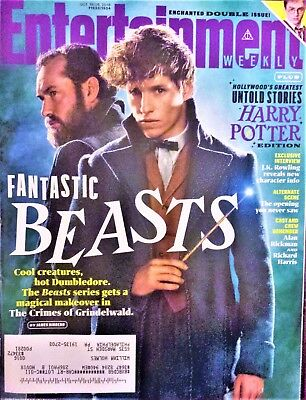 ENTERTAINMENT WEEKLY~FANTASTIC BEASTS+UNTOLD HARRY POTTER