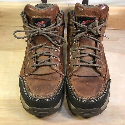 Red Wing Mens Size 10 Electrical  Hazard Truhiker 5-Inch Hiker Boot #8692
