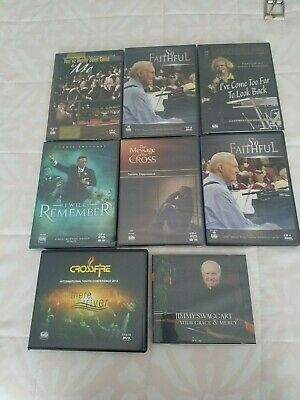 LOT OF 8 Jimmy Swaggart CD / DVD Sets - (Nancy Harmon, Donnie Swaggart &  more  )