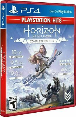 Horizon Zero Dawn Complete Edition Hits - PlayStation 4 Brand New! SEALED!!!