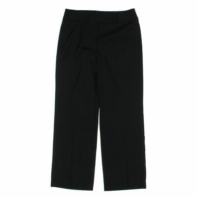 Requirements Women's  Dress Pants size 12,  black,  polyester, rayon, spandex