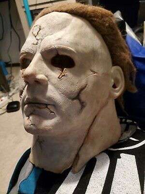Halloween 2 Rob Zombie Mask.Rob Zombies Halloween 2 Michael Myers Tyler Mane Mask By
