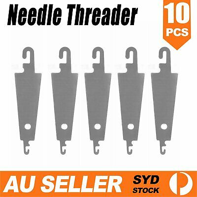 5/10x NEEDLE THREADER Metal None Breakab Sewing Knitting Embroidery Cross-Stitch