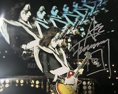 KISS Signed Photo Ace Frehley Autographed Picture (Simmons Stanley Criss) Proof