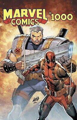Marvel Comics #1000 Rob Liefeld Exclusive Variant Cover NM Limited 3000 Deadpool