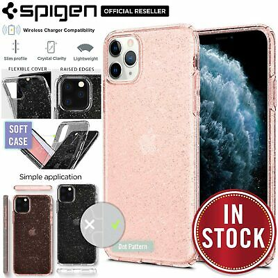 iPhone 11 Pro Case, Genuine SPIGEN Liquid Crystal Glitter Soft Cover for Apple