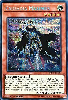 Crusadia Maximus - MP19-EN081 - Prismatic Secret Rare 1st Edition - NM Yugioh