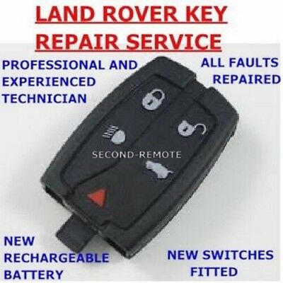 Land Rover Key Fix Freelander 2 Remote Key Fob Repair / New Battery