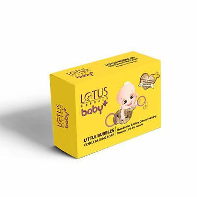 Lotus  Baby Little Bubbles Gentle Bathing Soap, White, 300 g (Buy 3 Get 1 Free )