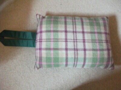 Tweedmill, British Made, Pure New Wool, Garden Kneeling Cushion, New