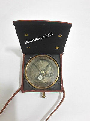 "Nautical Brunton Compass 3"" Vintage Maritime Kelvin & Hughes London 1997 Compass"