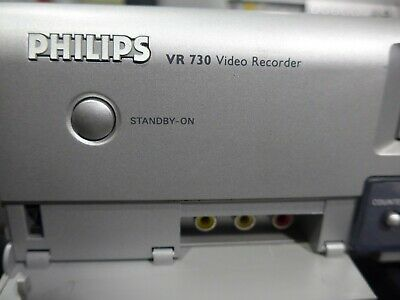 PHILIPS VR730 HI-FI Stereo VCR/VHS Player Recorder