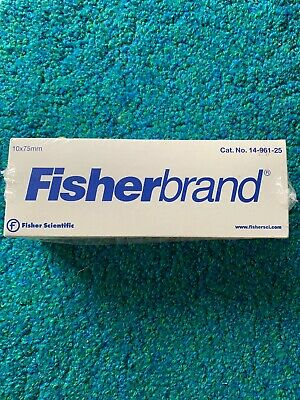 VWR & Fisherbrand Disposable Borosilicate Glass Culture Tubes 10 X 75mm