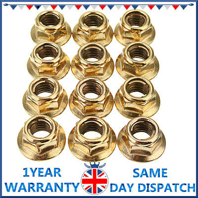BMW  E46 316i M43 07129908136 Exhaust Manifold Stud AND BRASS NUTS SET