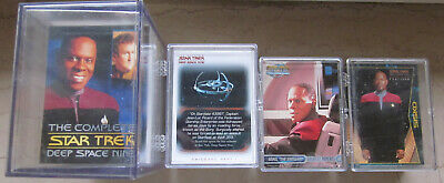 Star Trek DS9  - 4 x Tradingcard Set - Skybox / Rittenhouse