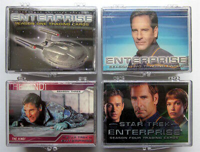 Enterprise Season 1-4  - 4 x Tradingcard Set ( 306 Karten ) - Rittenhouse
