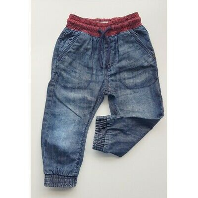 12-18 month blue NEXT jeans for boys comfy stylish excellent condition