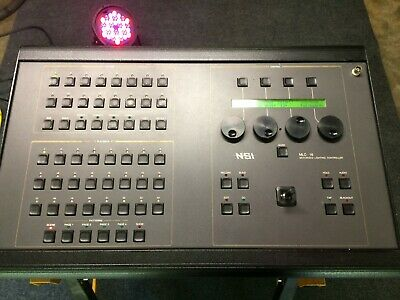 NSI MLC 16 Moving light Console Controller in good shape