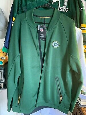 competitive price 10a6d 74807 NIKE NFL GREEN Bay Packers Football Therma Fit Crucial Catch ...