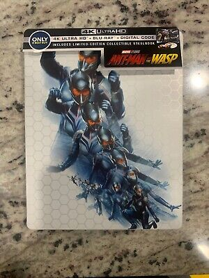 Marvels Ant-Man And The Wasp Steelbook (4K + 2D Blu-ray) Best Buy - No Digital