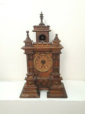 Rare Castle/Gothic Mantle Cuckoo Clock