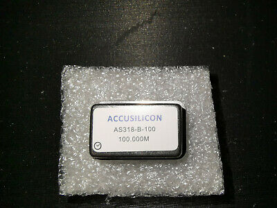 Accusilicon AS318-B-100 Mhz Crystal clock