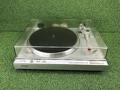 SONY PS-T33 Stereo Turntable System Fully Automatic Direct Drive Record Player