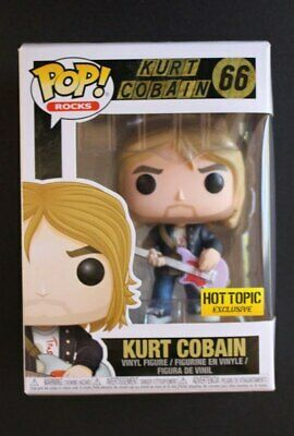 Funko Pop! Kurt Cobain #66 Rocks Hot Topic Exclusive