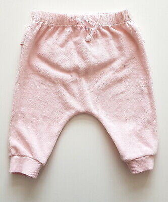3-6 month Next pink girls joggers soft warm cute