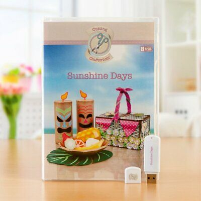 Cutting Craftorium Usb Svg Cutting Files Sunshine Days - BNIP - RRP £49.99