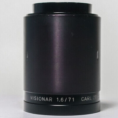 Carl Zeiss Visionar Jena DDR 1,6/71 | F1.6 71mm | Fast Projection Lens