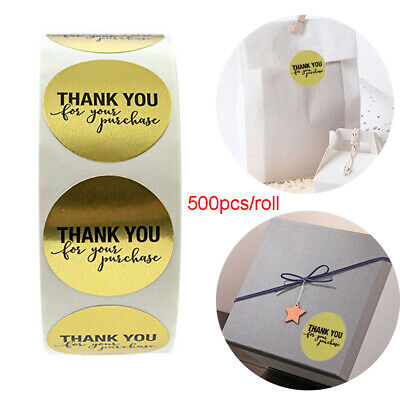 Party Supplies Cookie Bags Box Cards Package Label Tag Thank You Kraft Stickers