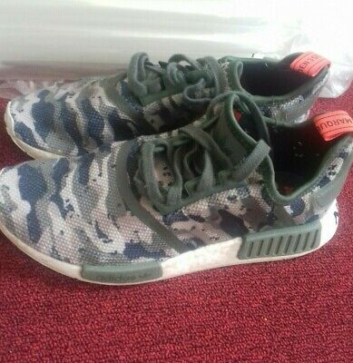 Details about NEW adidas Originals NMD R1 BOOST G27915 CAMO Clear BrownSolar Red MEN'S c1