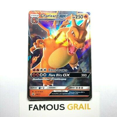 Charizard GX - SM211 - Rare Holo Promo Card - Pokemon Hidden Fates MINT