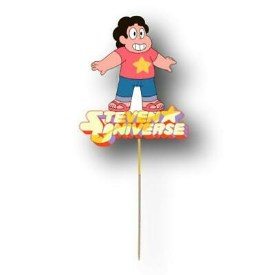 Steven Universe Cake Topper Birthday Party Supplies Decoration Image Cut Card