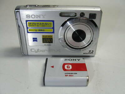 Sony Cyber Shot Dsc W80 Silver Np With Bg1 It Is A Moving Product Current