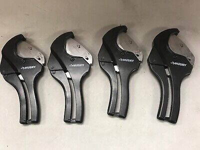 (Lot Of 4) Husky 2 in. Ratcheting PVC Cutter